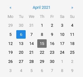 calendar curent day qms software