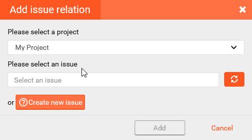 Add issue relation